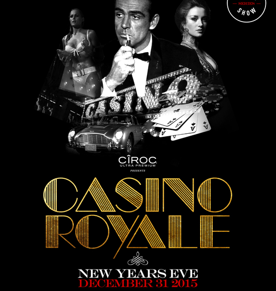 Casino Royale New Years Eve 2016