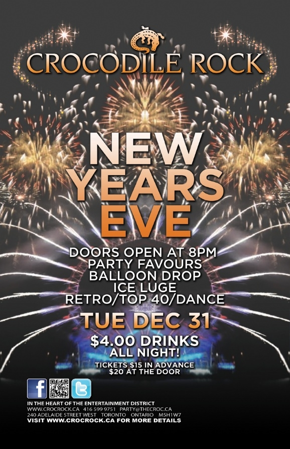 New Years Eve Club Events