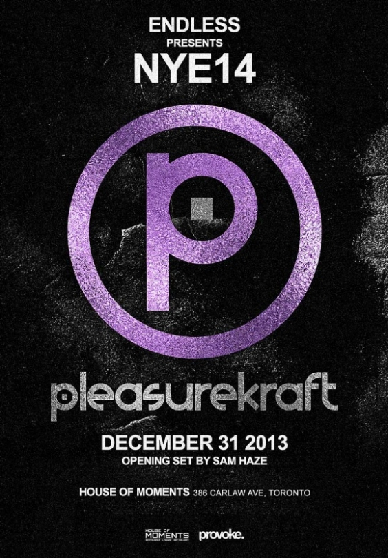 NYE14 with Pleasurekraft