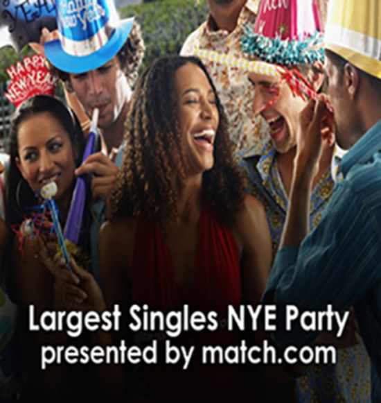 Toronto's Largest Singles NYE Party Presented By Match.com