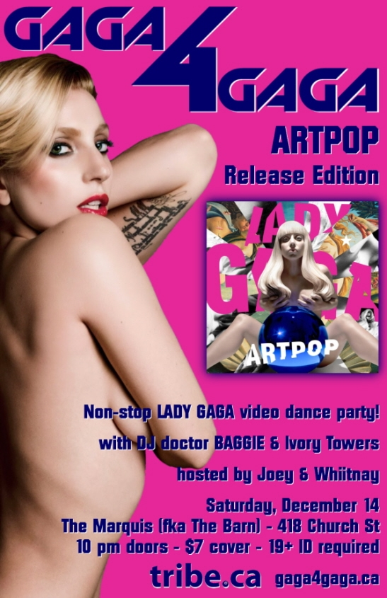 GAGA 4 GAGA -- ARTPOP Release Edition -- LADY GAGA Video Dance Party