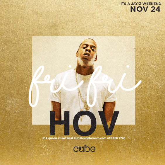 Alive Fridays Presents HOV
