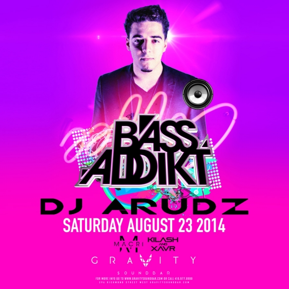 BASS ADDIKT SATURDAYS FT DJ ARUDZ