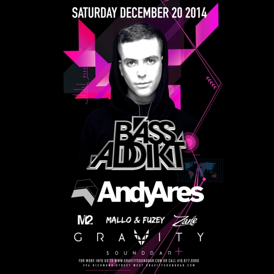 BASS ADDIKT SATURDAYS - FT ANDY ARES