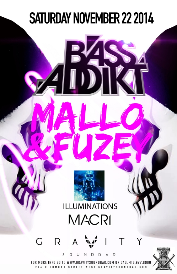 BASS ADDIKT SATURDAYS - MALLO & FUZEY