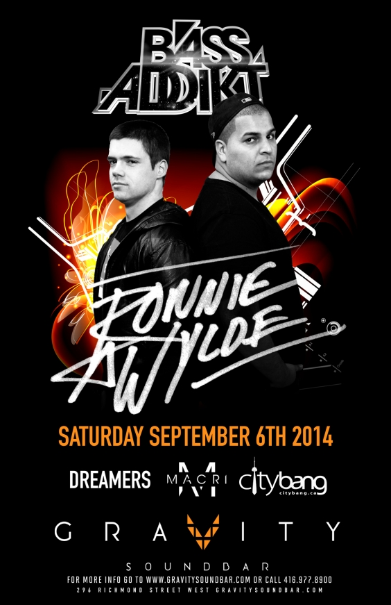 BASS ADDIKT SATURDAYS FT RONNIE & WYLDE
