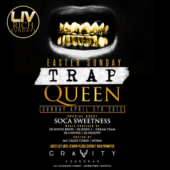 LIV RICH SUNDAYS @GRAVITY