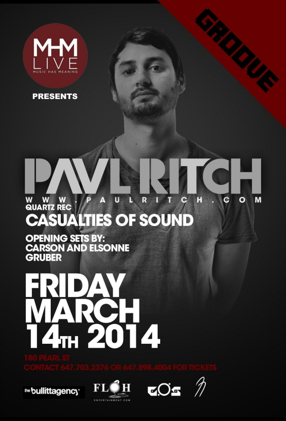 PAUL RITCH: CASUALTIES OF SOUND
