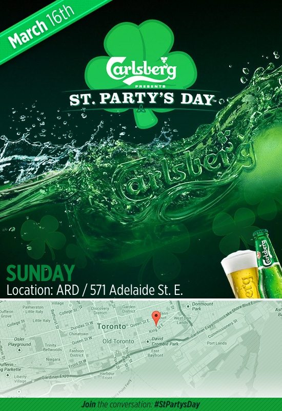 St. Party's Day Toronto (Sunday)