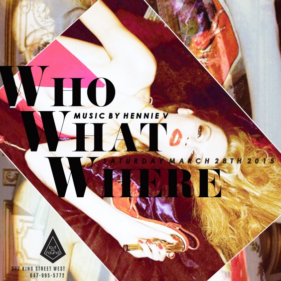 Who What Where - Saturday March 28th - Lost And Found
