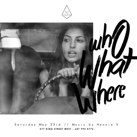 Who What Where - Saturdays At Lost And Found