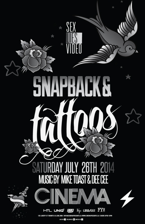 Sex Lies Video at Cinema Presents| Snapback & Tattoos