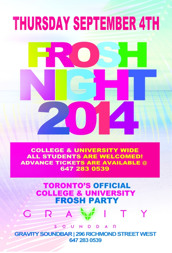 FROSH NIGHT 2014