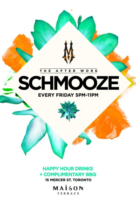 The After Work Schmooze - Each & Every Friday