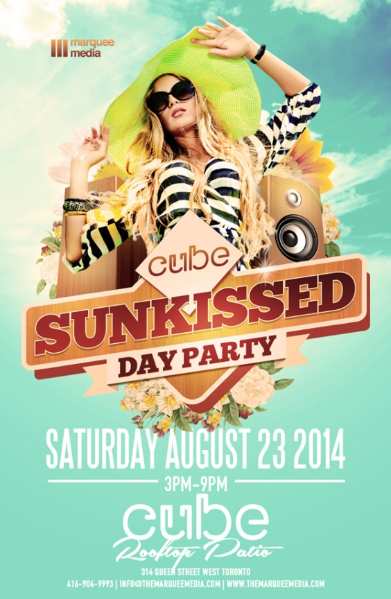 SUNKISSED DAY PARTY | CUBE ROOFTOP PATIO