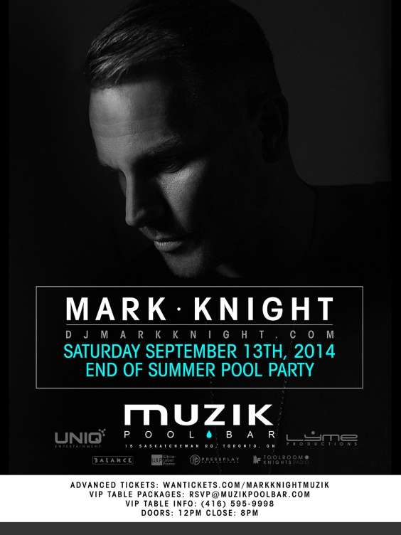 END OF SUMMER POOL PARTY WITH MARK KNIGHT