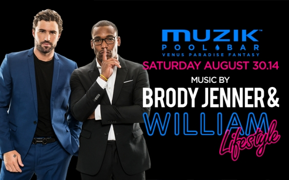 Brody Jenner & William Lifestyle Live at Muzik Pool Bar