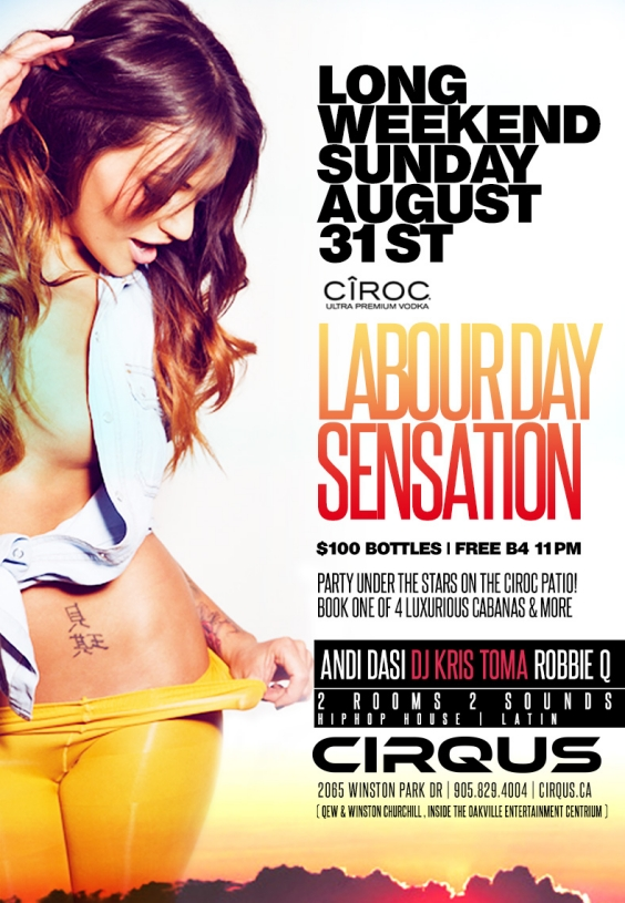 LABOUR DAY SENSATION
