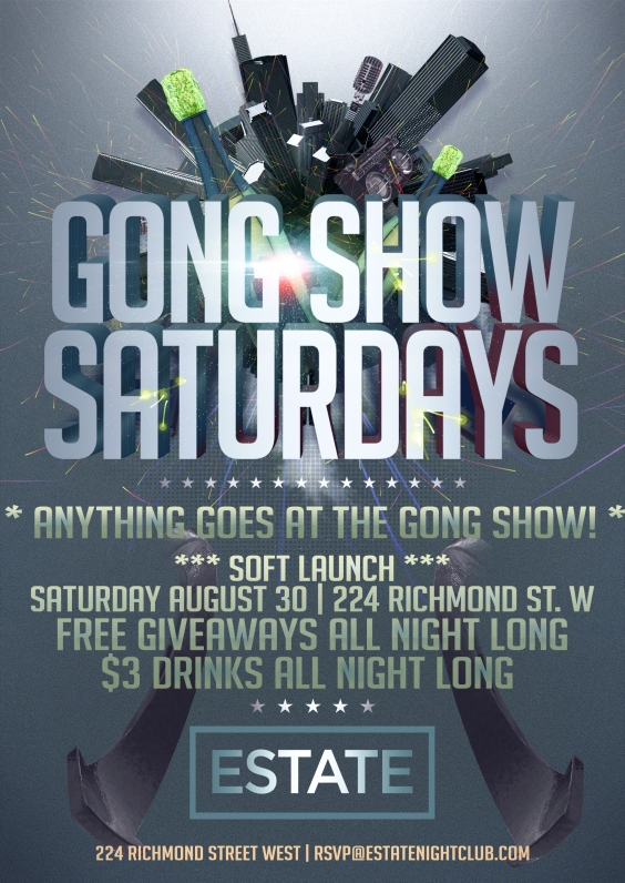 Gong Show Saturdays