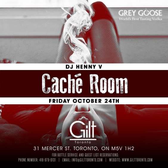 Special Grey Goose #WMCFW Event at GIlt this Friday Night
