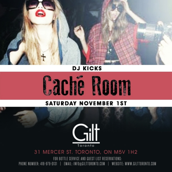 Post Halloween Event at GIlt #Saturday Music By: Dj Kicks
