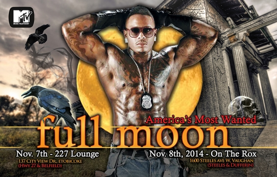 AMERICA'S MOST WANTED – FULL MOON WEEKEND TOUR