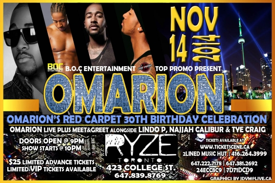 #OMARION 30th Celebrity Birthday Celebration