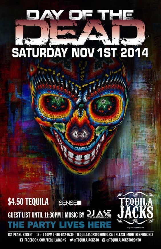 DAY OF THE DEAD AT TEQUILA JACKS NOVEMBER 1