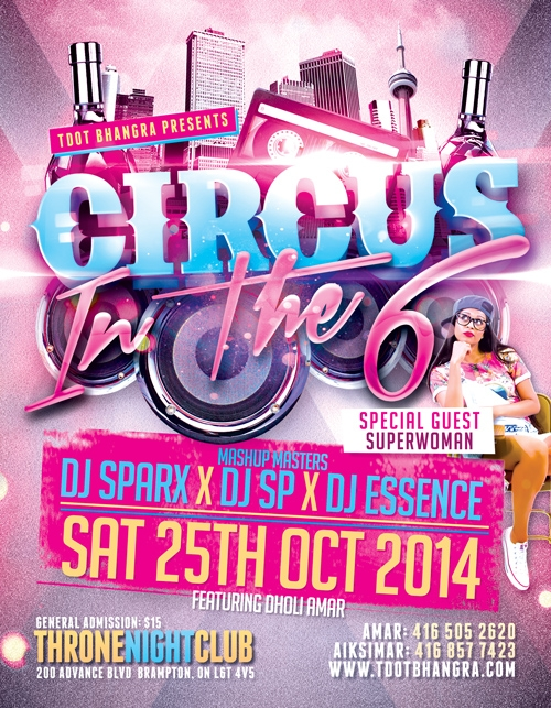 CIRCUS IN THE 6: HOSTED BY SUPERWOMAN