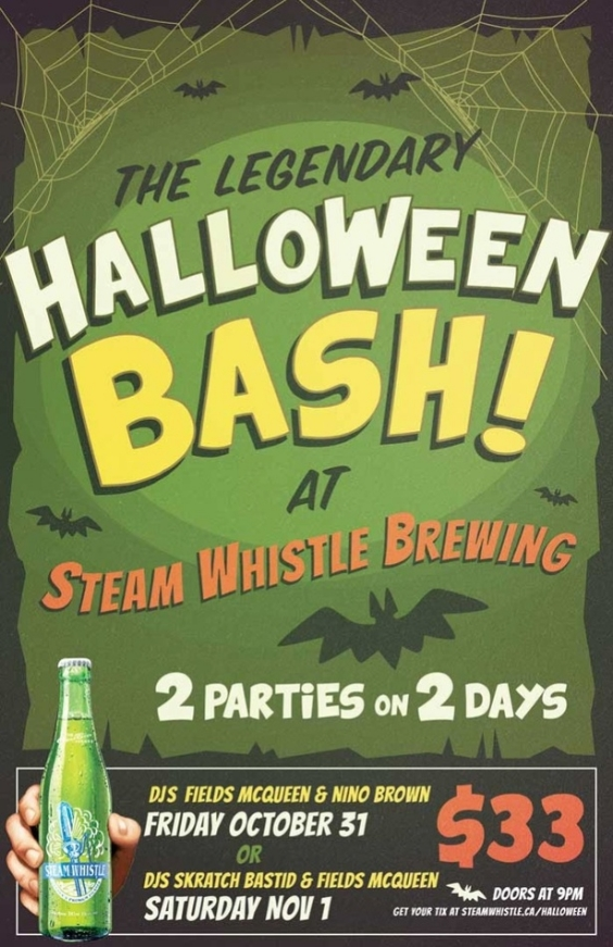 The Legendary Halloween Bash!