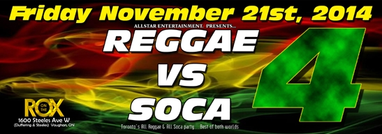 Reggae Vs. Soca 4
