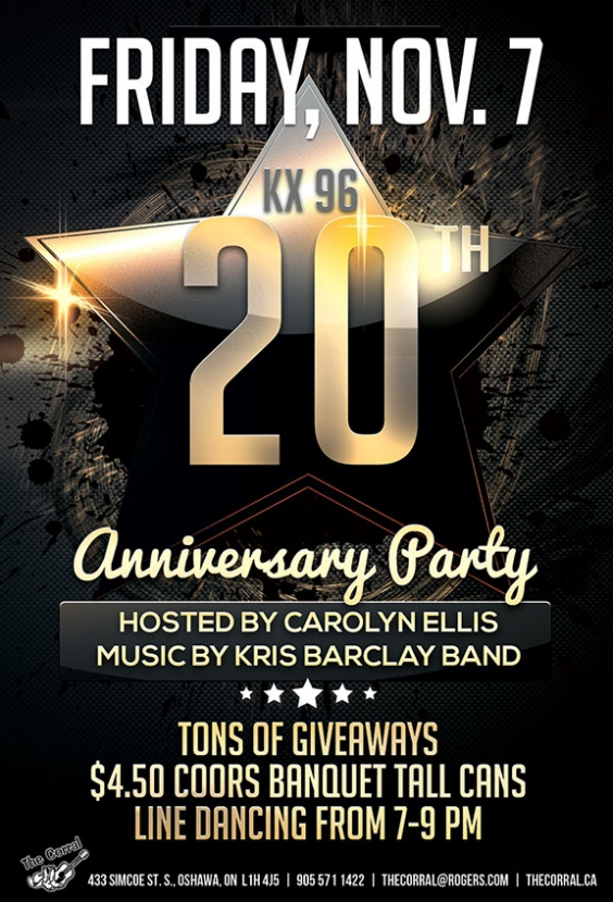 KX96 Anniversary Party