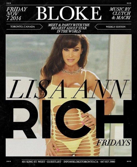 RICH Fridays with Lisa Ann