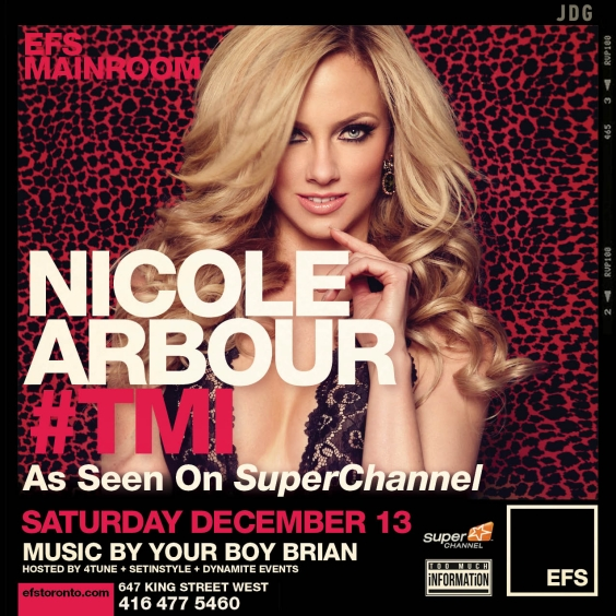 EFS Saturdays Presents Nicole Arbour Star Of #TMI