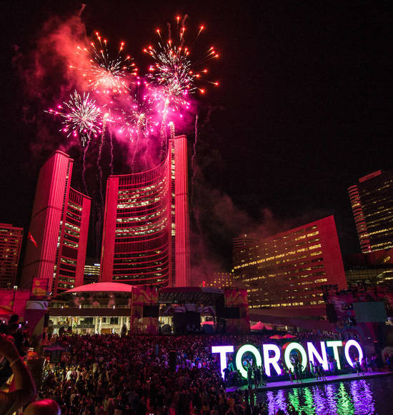 Nathan Phillips Square New Year's Eve