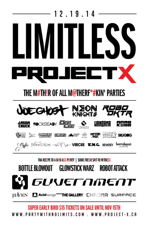 Limitless Project X