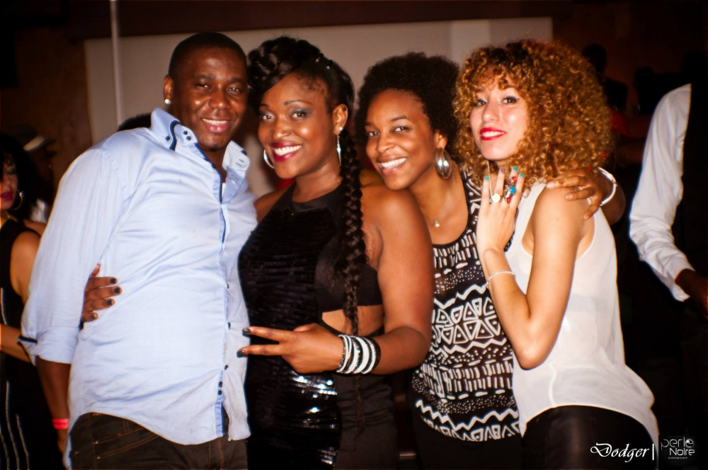 Ebony black party