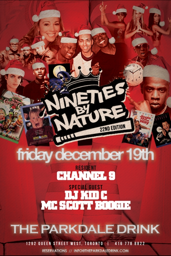 Nineties By Nature Holiday Edition