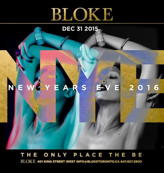 Bloke New Year's Eve 2016