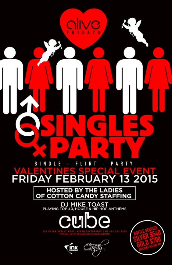 Alive Fridays Presents Singles Valentines Party