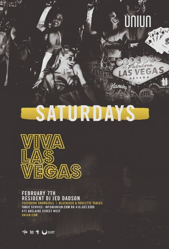 UNIUN SATURDAYS PRESENTS VIVA LAS VEGAS