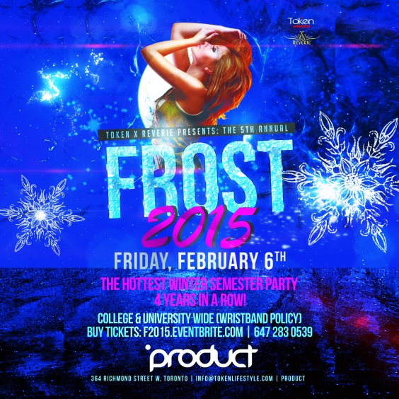 Frost 2015 @ Product Nightclub