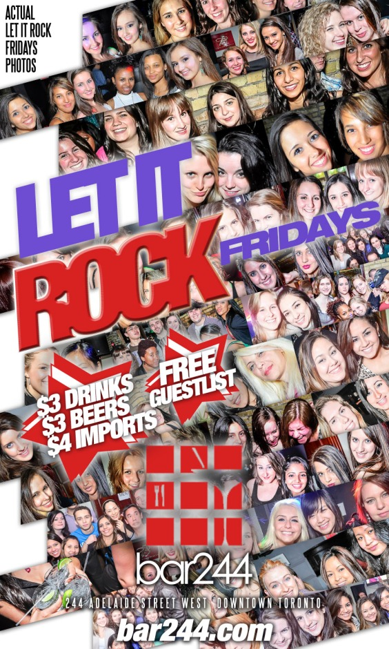 Let it Rock Fridays