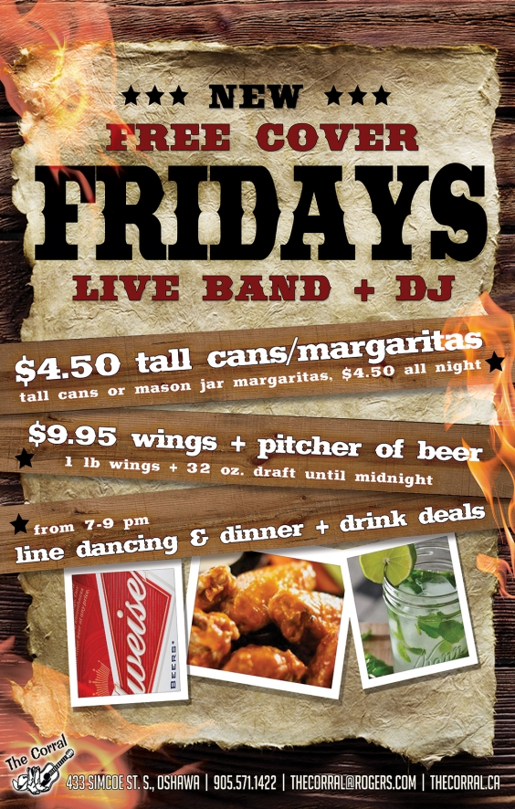 Brad James Live/No Cover Fridays