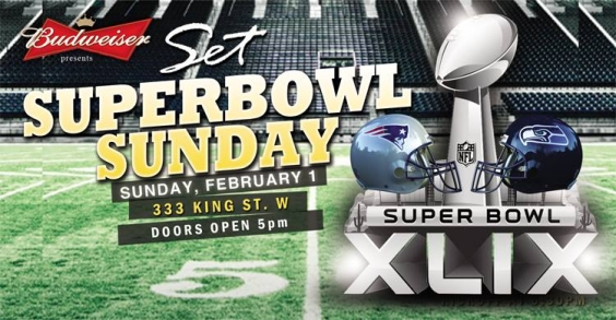 BUDWEISER presents: #SUPERBOWLSUNDAY ★ GAMEDAY at #SETonKing!!
