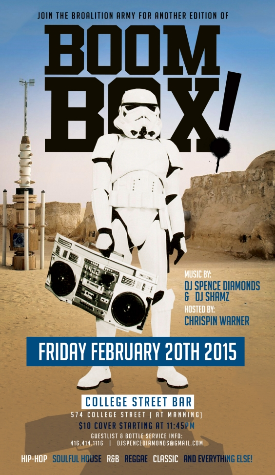 The Broalition Presents... BOOM BOX