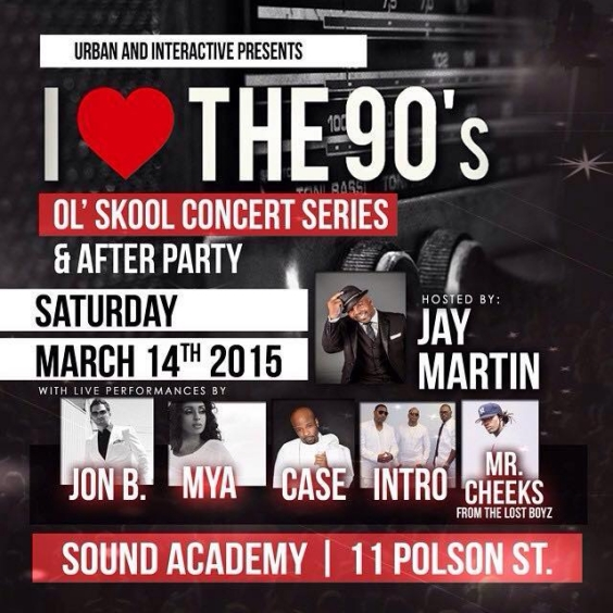 I Love The 90's Concert & After Party