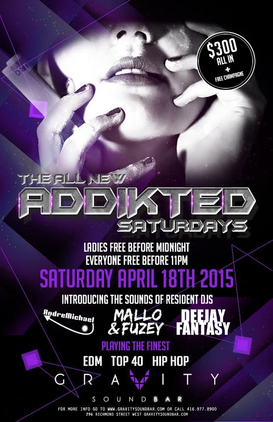 All New Addikted Saturdays