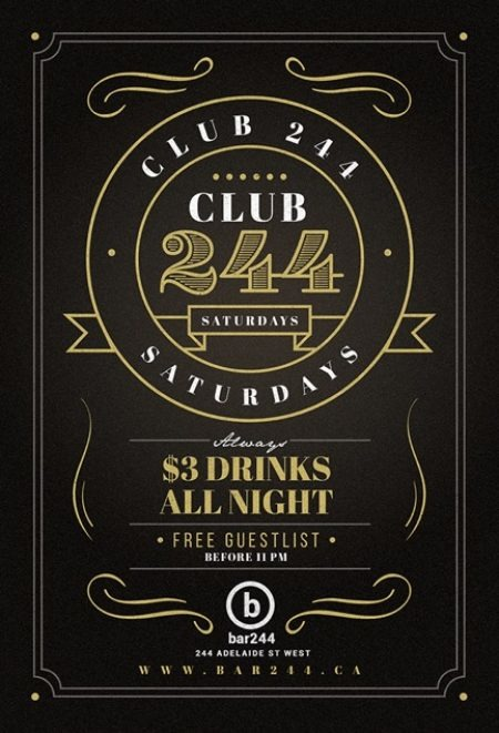 Club244 Saturdays