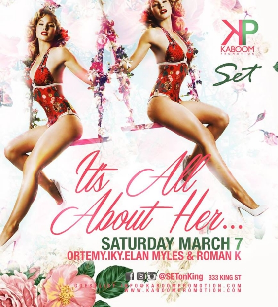 IT'S ALL ABOUT HER ~ Women's Day Weekend Celebration March 7th | #SETonKing